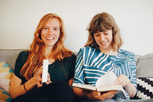 KW Klaps #2: Babbelen over boeken bij koffie en gebak met Trees en Sara