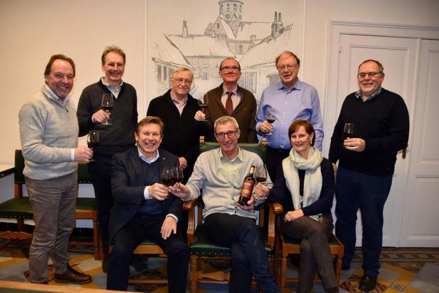 Ook positief coronanieuws bij de wijngilde uit Rollegem