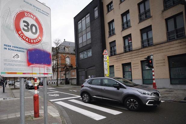 Eerste evaluatie Brusselse zone 30 positief