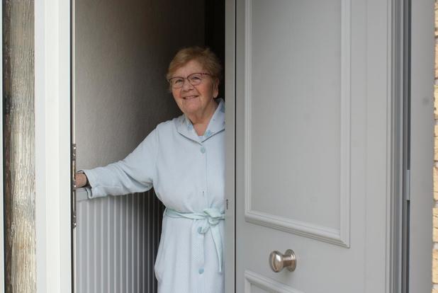 Lena Muylle (82) ziet niemand tijdens deze coronacrisis