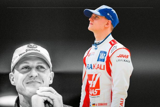 F1-debutant Mick Schumacher: 'Natuurlijk is mijn vader mijn idool'