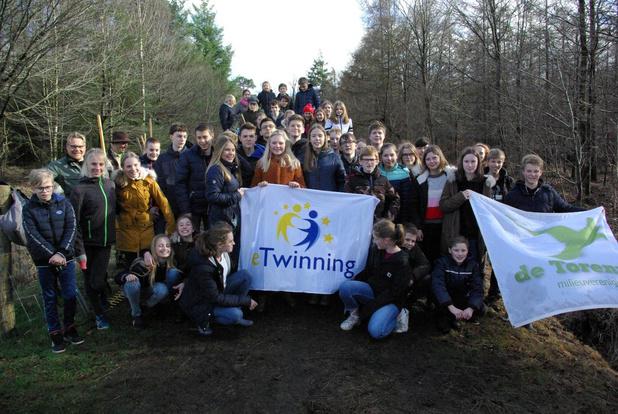 Tieltse school De Bron doet uitwisseling met Nederland rond klimaat