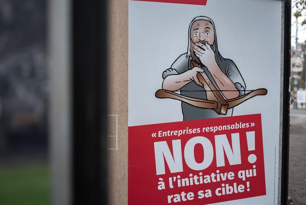 Zwitserland verwerpt verplichting tot 'verantwoord ondernemen'