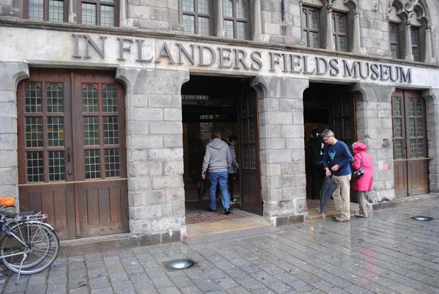 Zorgen om In Flanders Fields Museum: wellicht verlies van 700.000 tot 1 miljoen euro