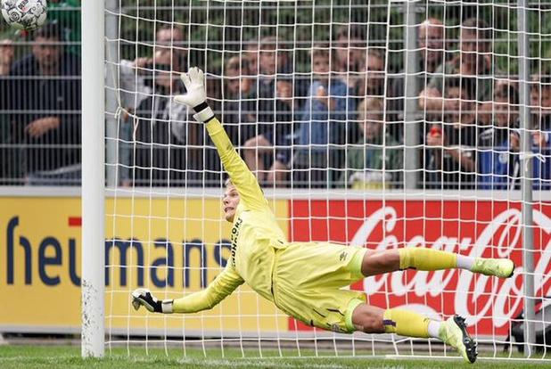 Belg in het buitenland: Maxime Delanghe (18) wil de nummer 1 van PSV Eindhoven worden