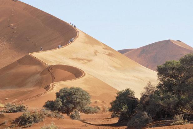 Roadtrip door de Namibische woestijn