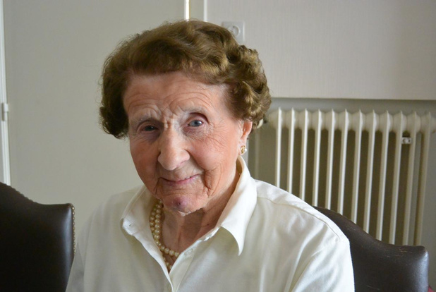 Martha Hermy (103) uit Oostkamp overleden