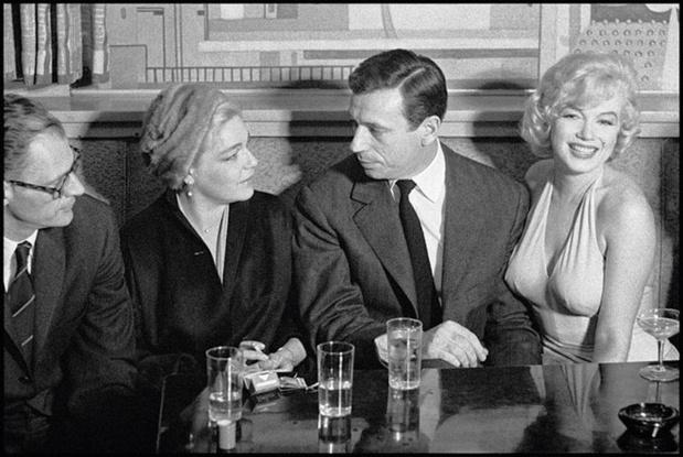 [À la télé ce soir] Signoret et Montand, Monroe et Miller: deux couples à Hollywood