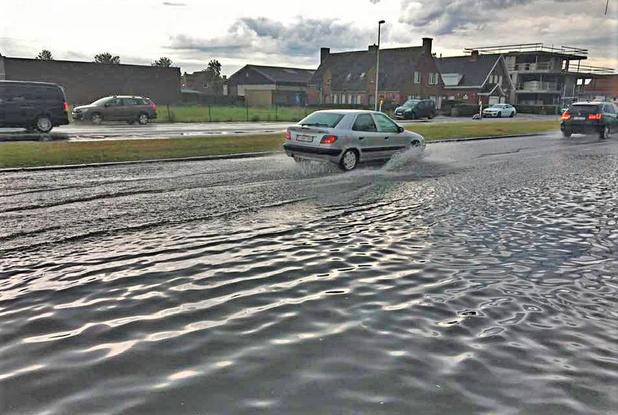 Gemeente De Haan aan tafel met Aquafin na overstroming in Wenduine