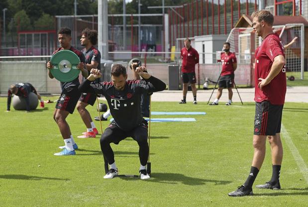 Skateboard, contrôle du jeu, intelligence tactique et sociale: Nagelsmann prépare la révolution du Bayern Munich