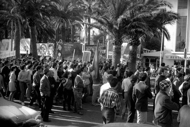 Tempête sur Cannes