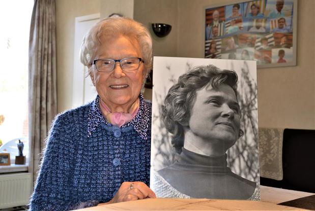 Christiane Deleersnyder, de eerste vrouw in de Haanse politiek, wordt 85