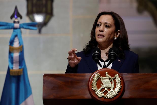 Amerikaanse vicepresident Harris raadt bevolking Centraal-Amerika af naar VS te vluchten