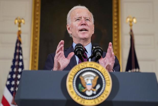 Biden houdt tv-toespraak over coronacrisis