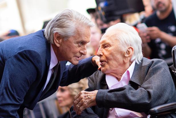 Amerikaanse acteur Kirk Douglas (103) overleden