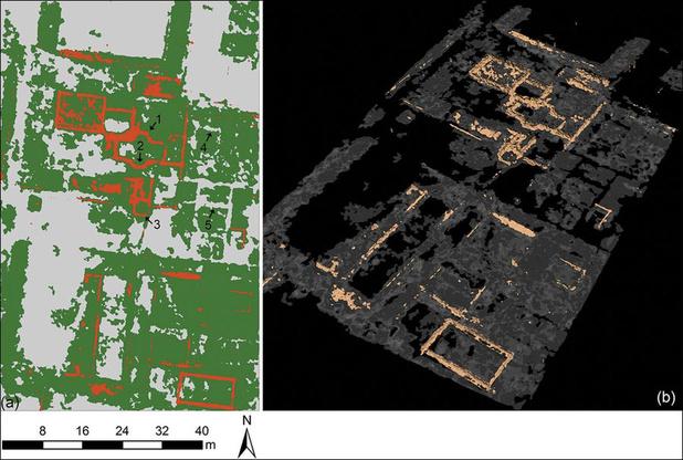 Ondergrondse Romeinse stad voor het eerst volledig in kaart gebracht