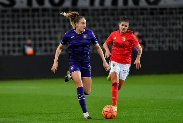 Anderlecht met Tessa Wullaert sneuvelt in tweede voorronde Champions League