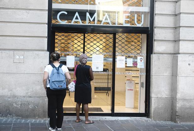Plus de Camaïeu en Belgique