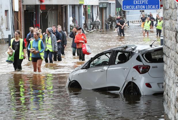 Internationale studie legt verband tussen hevige regenval juli en klimaatverandering