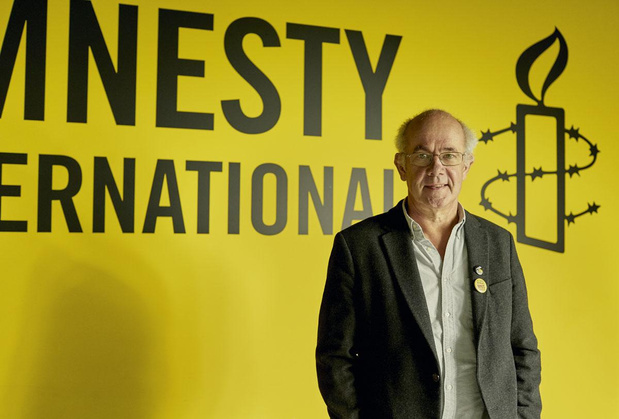 """Philippe Hensmans (Amnesty): """"Vous connaissez beaucoup de boulots où l'on vous paye pour emmerder des gouvernements?"""""""
