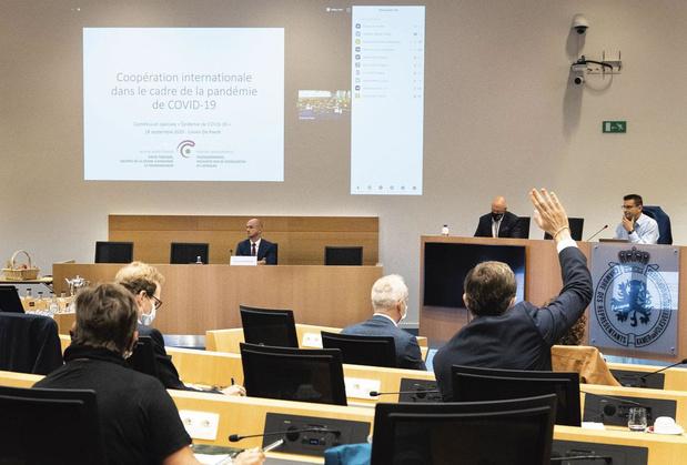 """Commission Covid:""""Tous les aspects de la gestion de crise seront abordés sans exception"""""""
