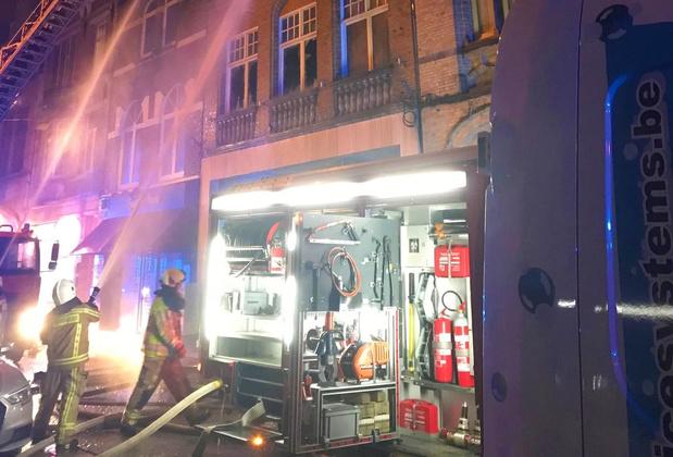 Uitslaande brand in Ieper