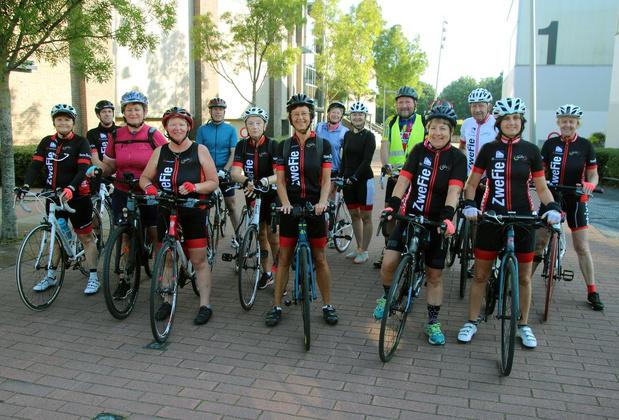"""Hilde Maet wil met The Chain veilig fietsverkeer promoten: """"Alle managers op de fiets"""""""