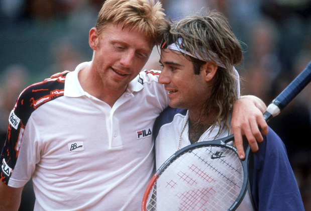 Hoe Andre Agassi erin slaagde om Boris Becker te kloppen