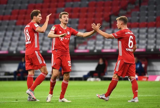 Met Goretzka, Kimmich en Müller aan de aftrap is Bayern München bijna onverslaanbaar