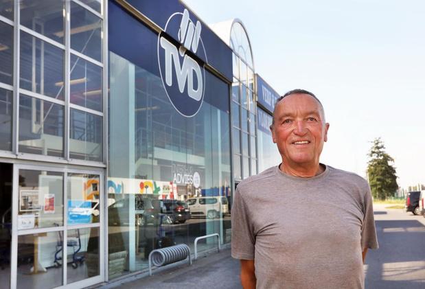 Georges Pannecoucke geeft na 50 jaar zijn zaak TVD uit handen