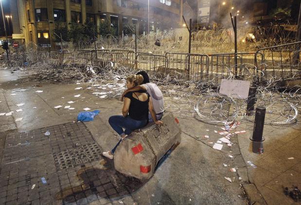 Le livre: Liban, le cycle infernal
