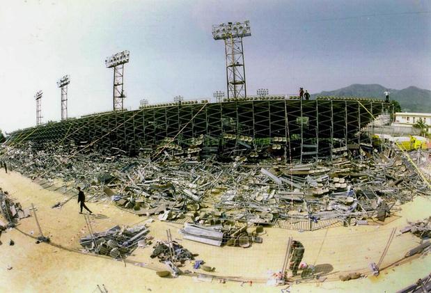 Flashback naar 5 mei 1992: 18 doden in Bastia na het instorten van een tribune