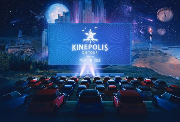 Kinepolis gaat op toer met mobiele drive-incinema en iconische films