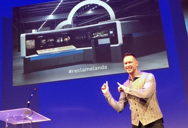 Première presse Landa du Benelux pour l'imprimerie en ligne Simian