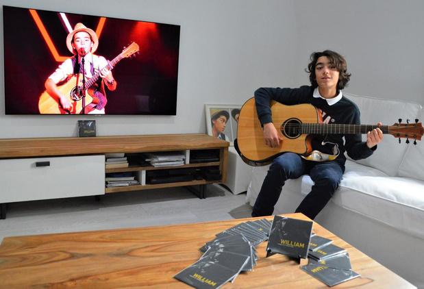 William (14) uit The Voice Kids stelt eerste popsingle voor: 'Power Of Seduction'