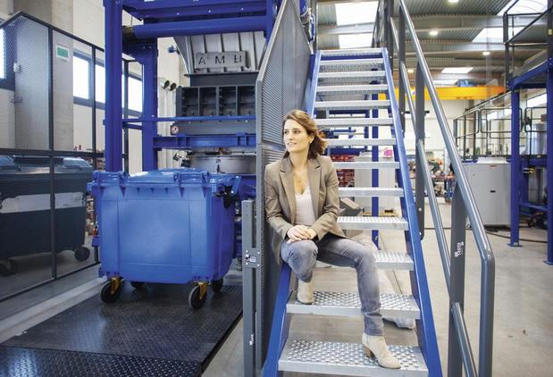 AMB Ecosteryl verwerkt medisch afval, CEO Amélie Matton: 'Het was onze plicht onze expertise te delen