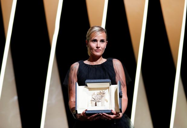 Gouden Palm gaat naar Julia Ducournau voor 'Titane'