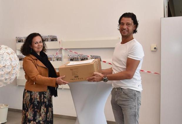 Ysco schenkt 5.000 schorten aan Jan Yperman Ziekenhuis