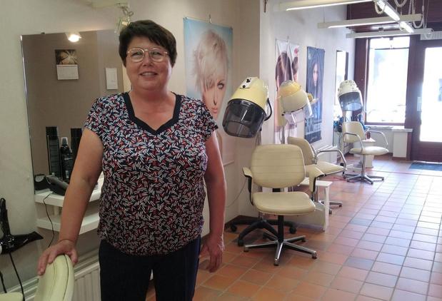 Jenny Wylin sluit voorgoed haar kapperszaak in Wandelingstraat