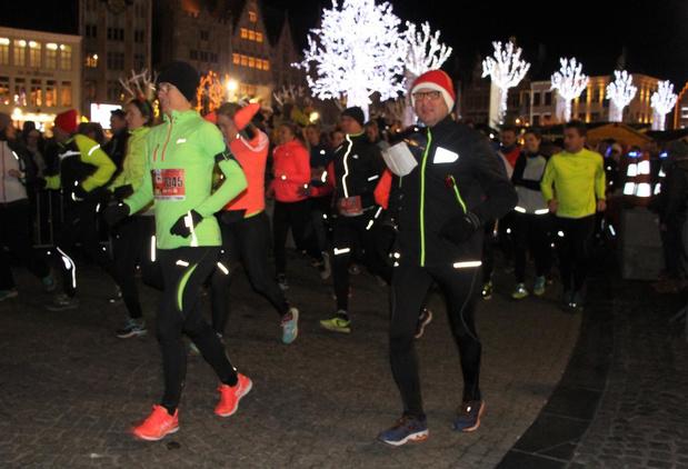 10de Kerstloop in Brugge wordt geen feesteditie
