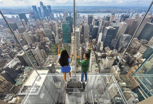 Léviter au-dessus de New York
