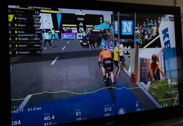 De virtuele Ronde van Vlaanderen: vooral balsem voor de wielerziel