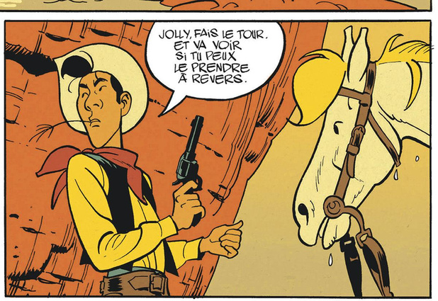 Lucky Luke, sacré Bonhomme