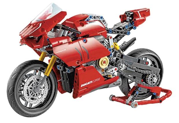 Ducati in Lego-steentjes