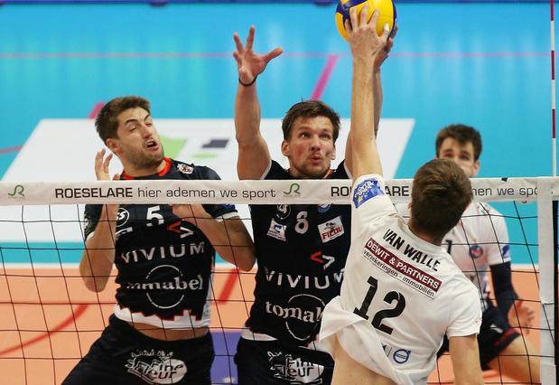 Knack Volley - Greenyard Maaseik te volgen via livestream