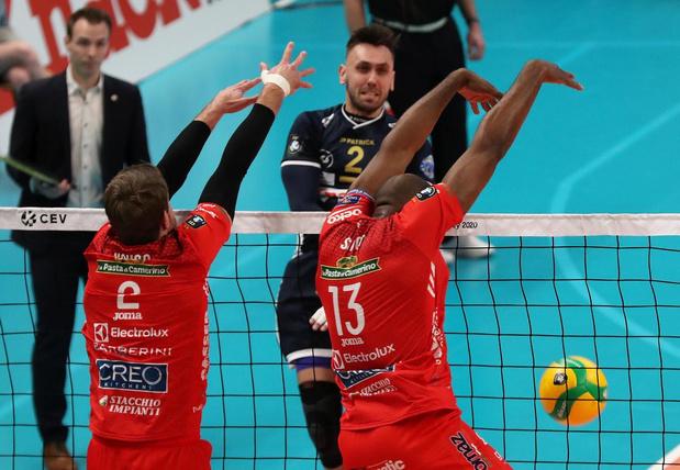 Knack Volley kan niet stunten tegen Civitanova