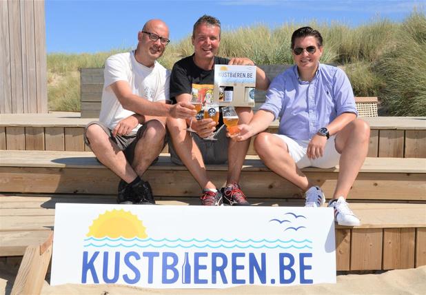 Drie kustbrouwerijen bundelen de krachten met het label Kustbieren.be