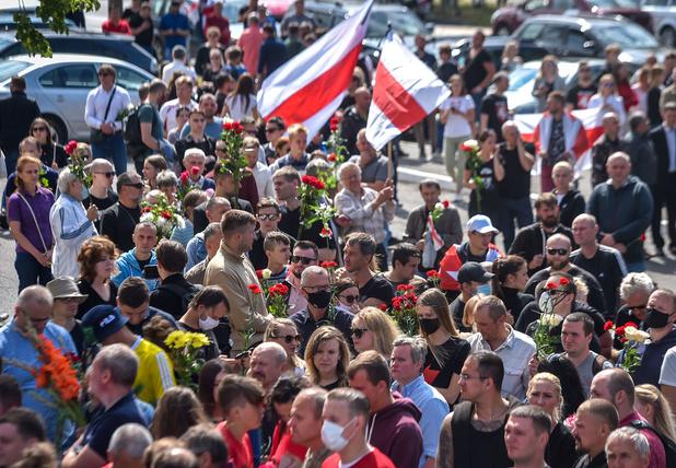 Oppositieleider Wit-Rusland roept op tot meer acties
