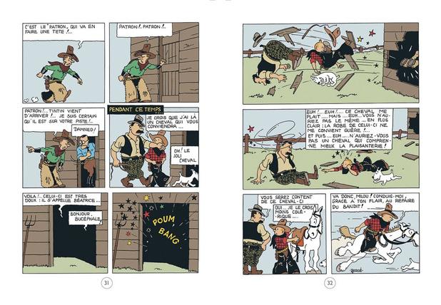 Tintin en Amérique en couleur: les rapport de Hergé avec les Etats-Unis