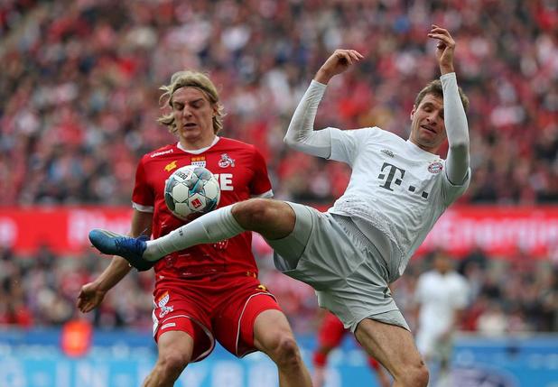 Sebastiaan Bornauw, revelatie bij FC Köln: 'Thomas Müller is in het echt een machine'